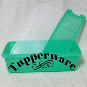 🍃⚘Tupperware⚘🍃Vegetable Crisper Keeper Storage